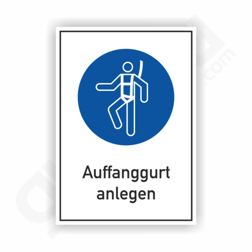Auffanggurt anlegen